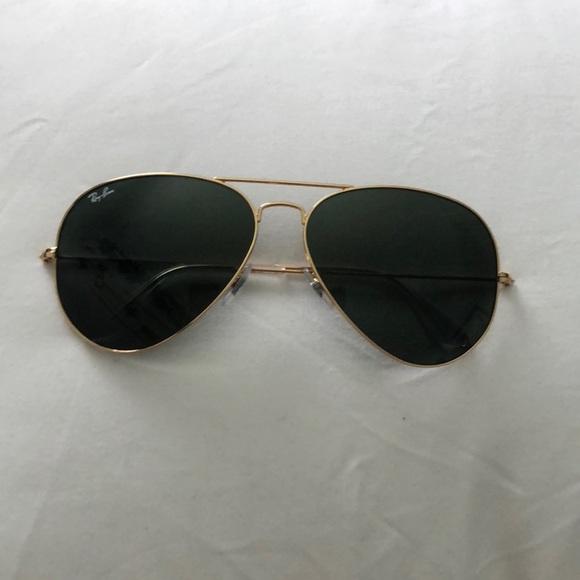 7bede46307 ... sunglasses matte black green polarized bcd85 5bc14  cheap original  aviators ray ban 64mm a355e 80474